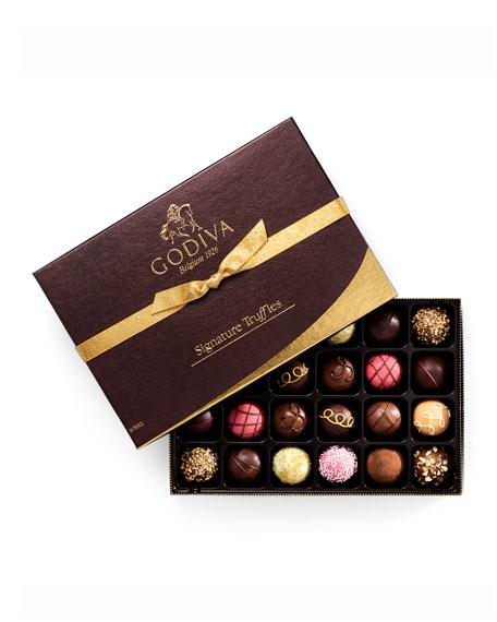 Godiva Chocolatier 24-Piece Signature Truffles Gift Box