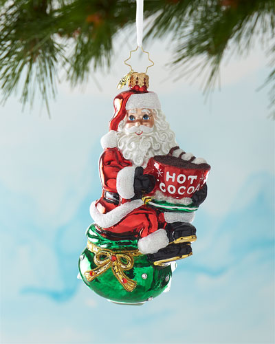 Don't Forget The Marshmallows Christmas Ornament