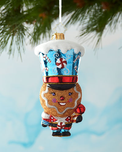 Defender Of The North Pole Christmas Ornament