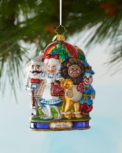 The Land Of Oz Christmas Ornament