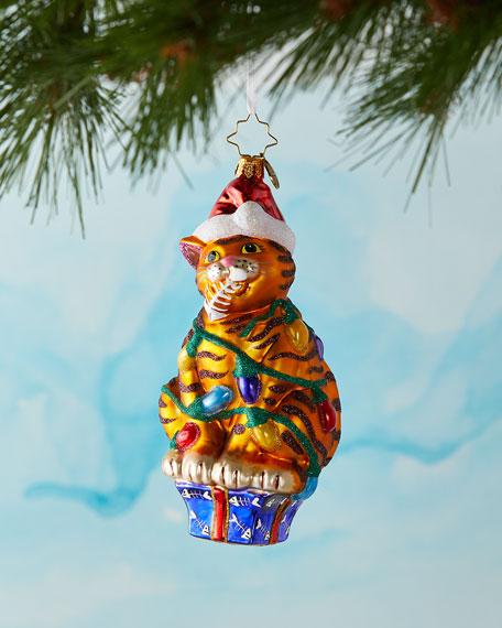 Feline Holiday Cheer Christmas Ornament