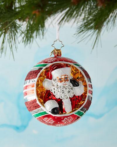 Spherical Cheer Christmas Ornament
