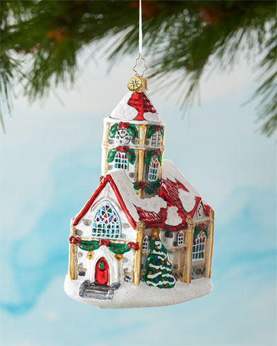 Christmas Chapel Ornament