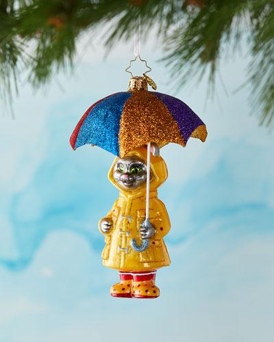 It's Raining Cats Christmas Ornament