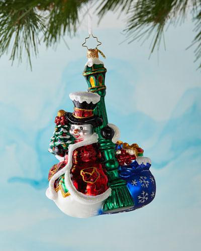 Swinging In The Rain Christmas Ornament