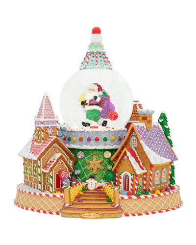 Ginger Village Delight Snow Globe