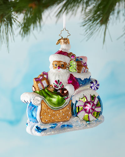Confectionery Claus Christmas Ornament