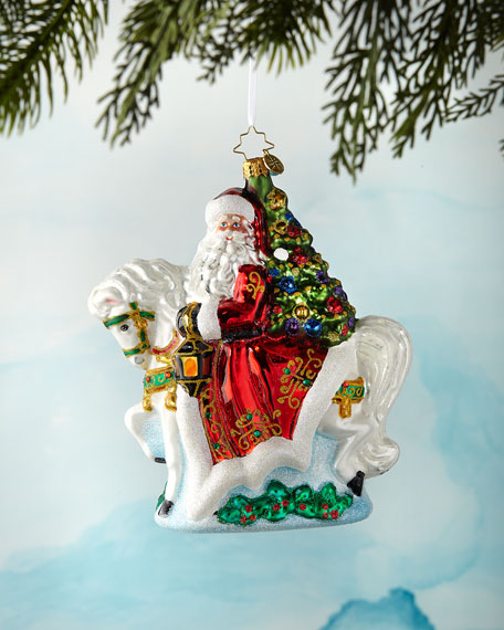 Galloping Into Christmas Ornament