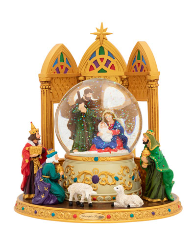 Heavenly Gift Snow Globe