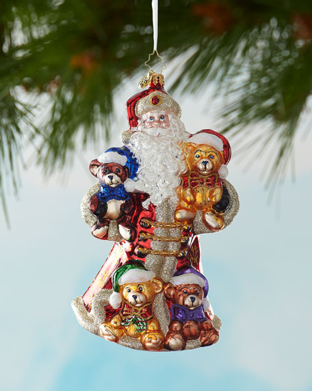 Christopher Radko Flush With Plush Christmas Ornament