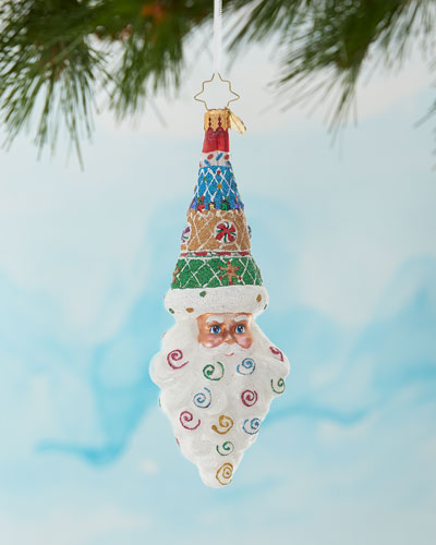 Sugary Sweet Mr. Claus Christmas Ornament