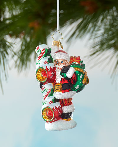 Santa's 2020 Vision Christmas Ornament