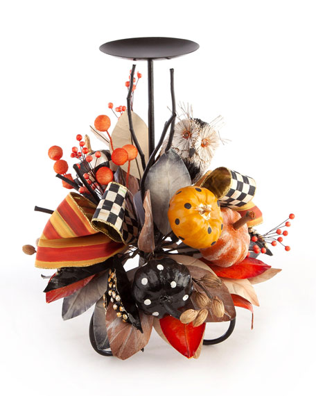 MacKenzie-Childs Fall Fest Candle Stand