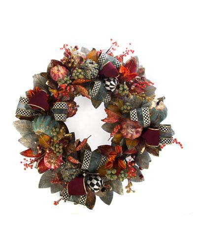 Verdigris Wreath