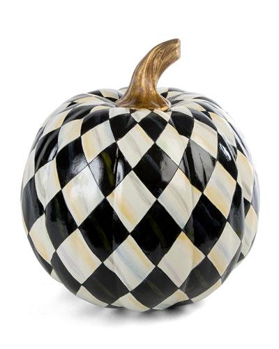 Courtly Harlequin Medium Pumpkin