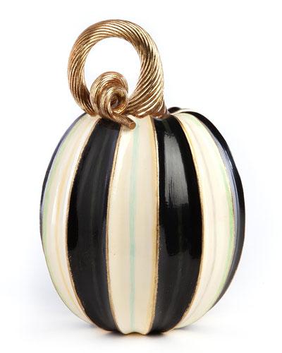 Elegant Stripe Pumpkin  Tall