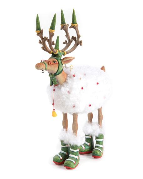 Patience Brewster Dash Away Blitzen Reindeer Figure