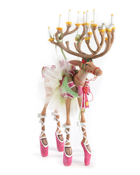 Dash Away Dancer Reindeer Figure