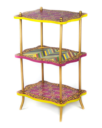 Paradise 3-Tier Table