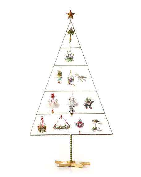 10 Pipers Piping Ornament