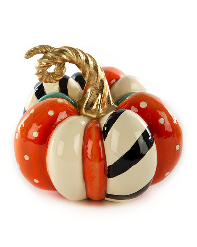 Patchwork Spice Pumpkin  Mini
