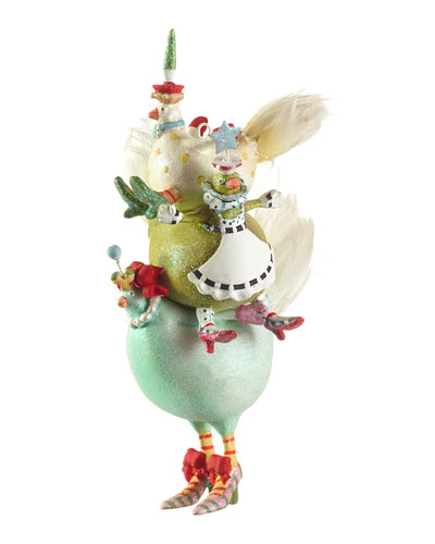 3 French Hens Ornament