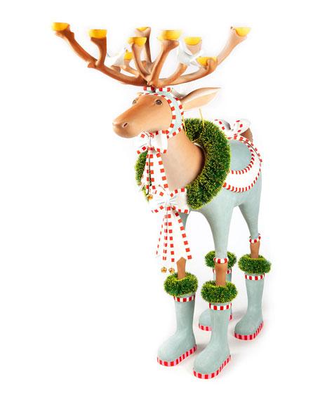 Dash Away Dasher Reindeer Display Figure
