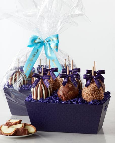 Happy Birthday Petite Caramel Apple Gift Tray