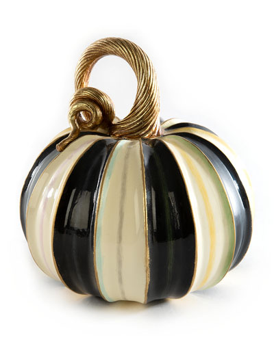 Elegant Stripe Pumpkin  Small