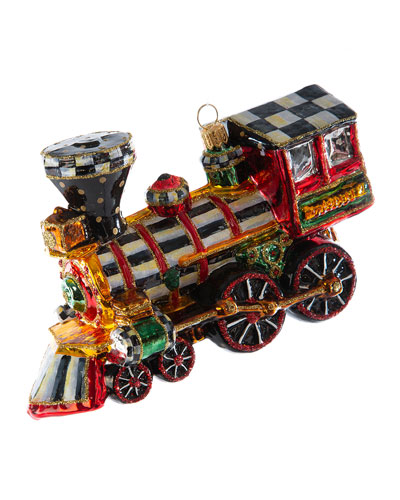 Glass Ornament  2020 Choo Choo Train