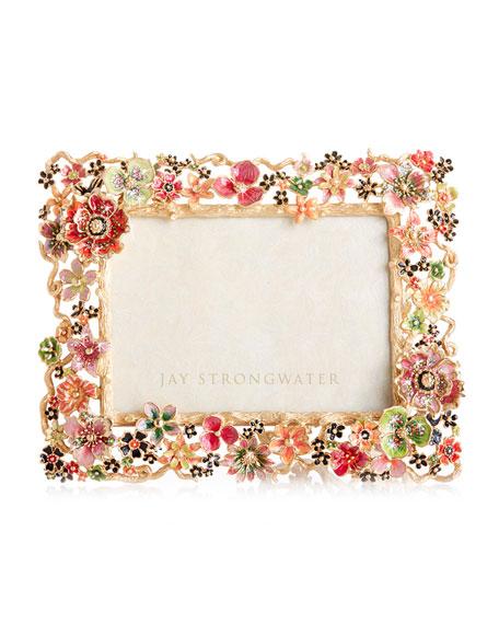 """Cluster Floral Frame, 5"""" x 7"""""""