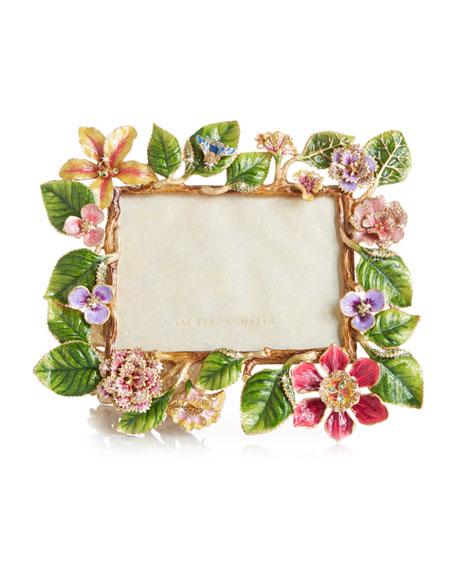 "Dutch Floral Frame, 5"" x 7"""