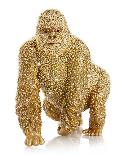Pave Gorilla Figurine