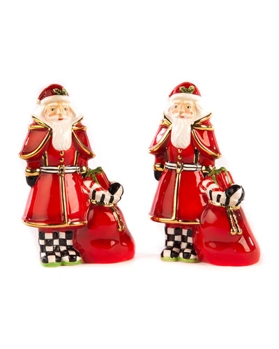 Santa Salt And Pepper Set