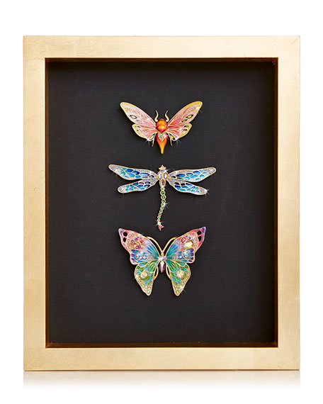 Butterfly Dragonfly Moth Wall Art