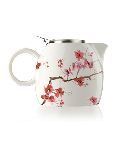 Cherry Blossom PUGG Teapot