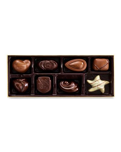 8-Piece Gold Chocolate Ballotin