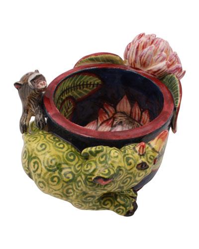 Rhino Monkey Egg Cup