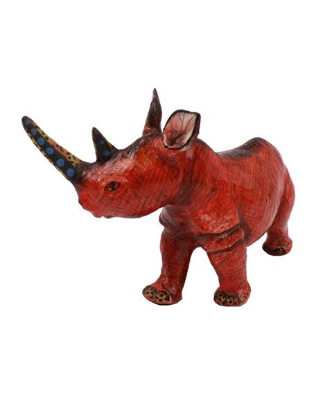 Rhino Sculpture