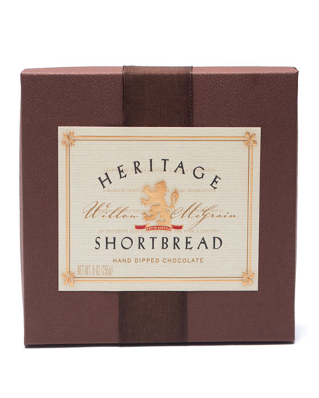 18-piece Heritage Chocolate-Dipped Shortbread