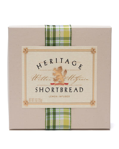 18-piece Heritage Lemon-Infused Shortbread