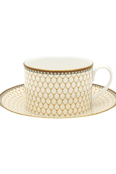 Antler Trellis Teacup & Saucer