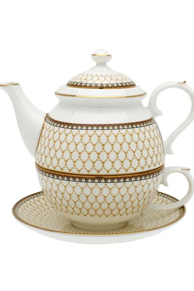 Antler Trellis Tea For One Set