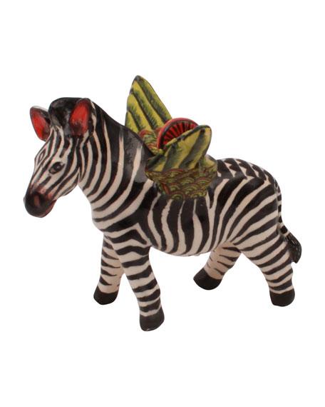 Ardmore Ceramic Art Zebra Hanger