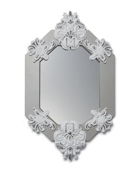 Framed 8-Sided Wall Mirror