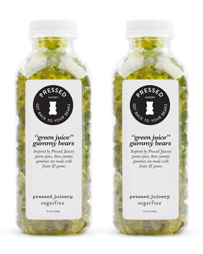 Green Juice Bears Large Bottle Bundle