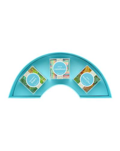 Rainbow 3-Piece Candy Bento Box