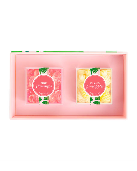 Taste of Paradise 2-Piece Candy Bento Box
