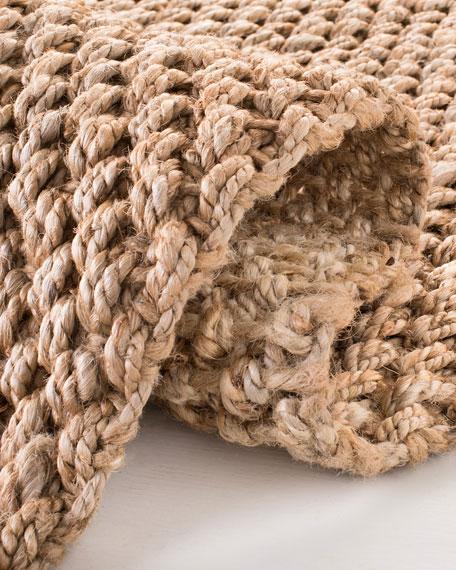 Panama Jute Hand-Loomed Rug, 8' x 10'