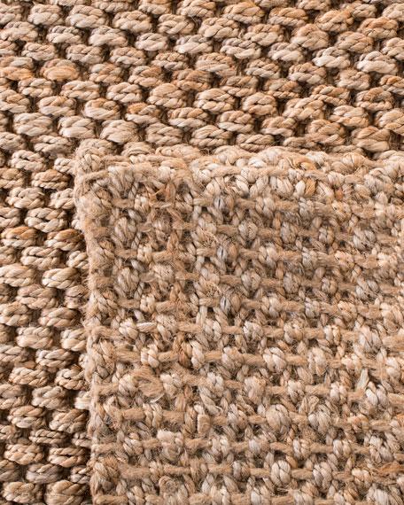 Panama Jute Hand-Loomed Rug, 9' x 12'